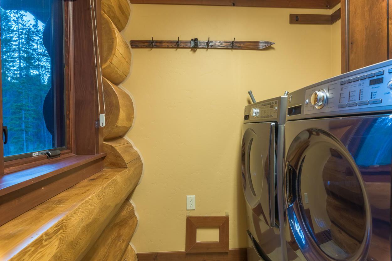 With the laundry room, you'll always stay fresh no matter what outdoor activities you do.