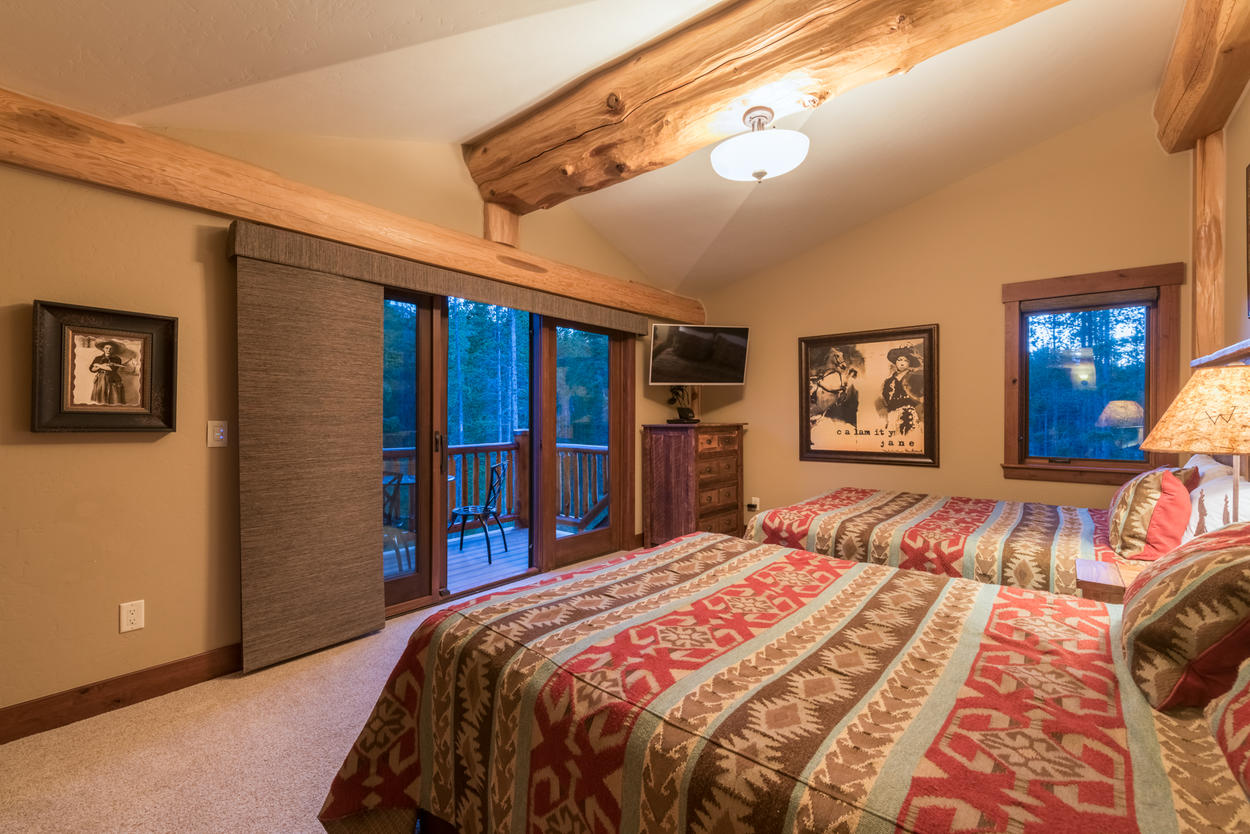 Enjoy your own access to the balcony from the third guest bedroom.