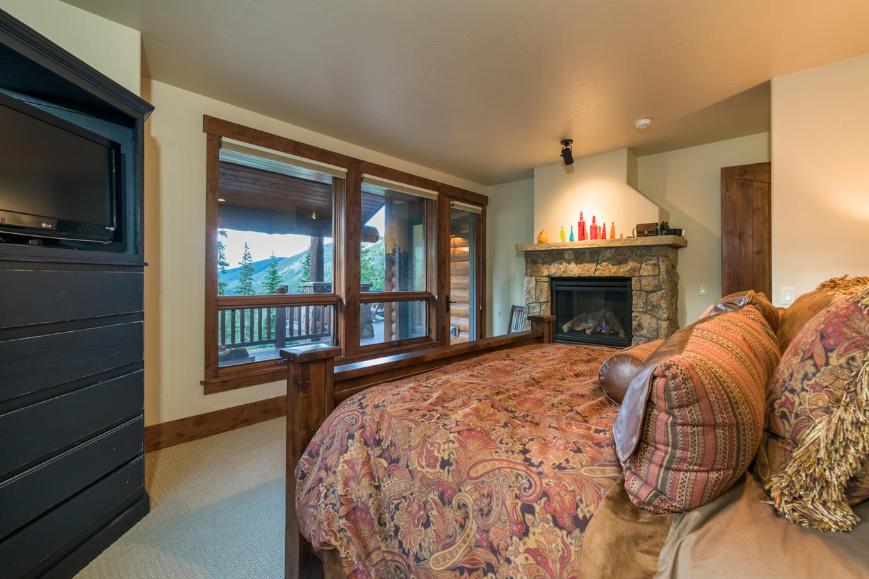 The deck is also accessible directly from the Master Bedroom.