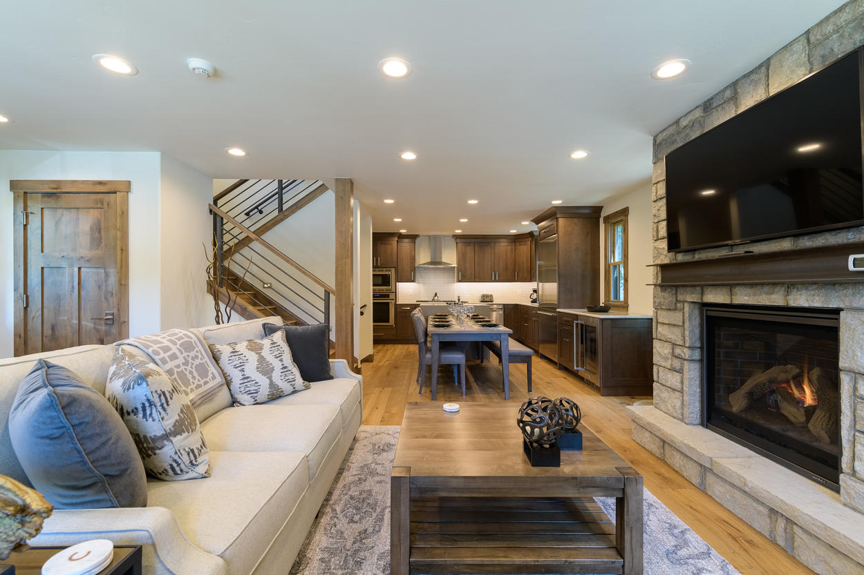 This home has been completely renovated with an open-concept design that provides plenty of room for your entire group.