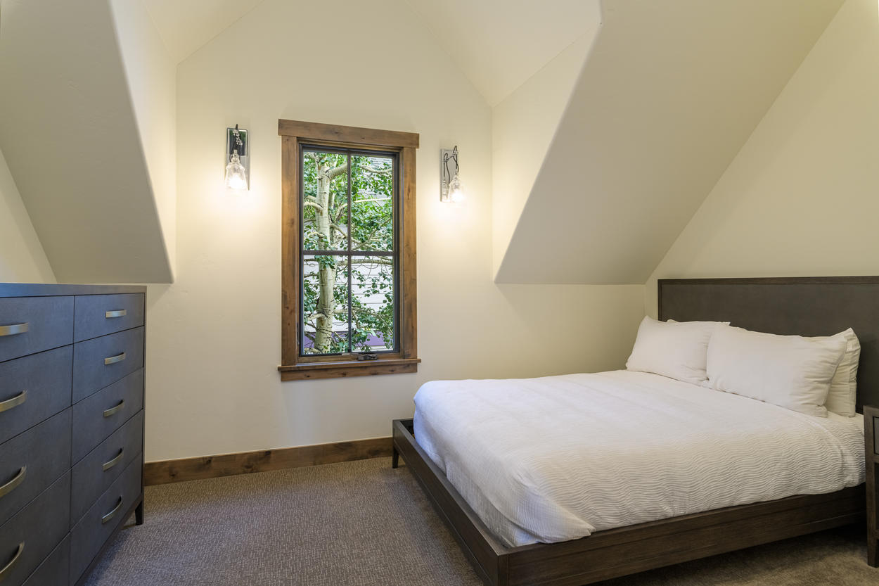 Guest Bedroom 2 is great for a second couple.