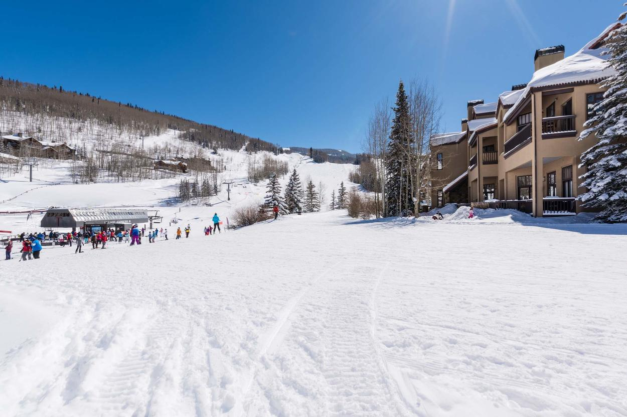 Its proximity to the slopes might be one of the best features.