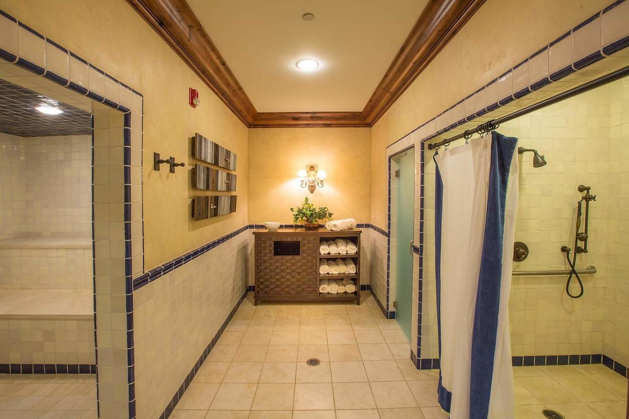 Towels are provided in the men's showers.
