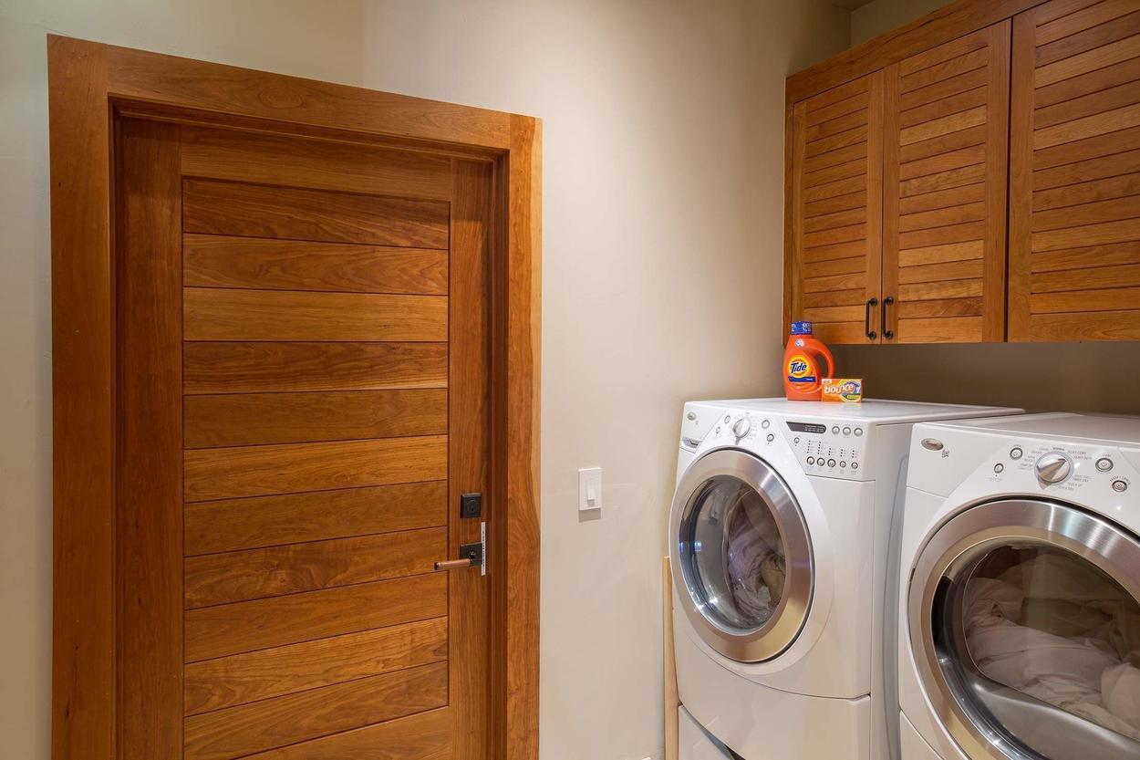 Yes, you've got laundry on the premises.