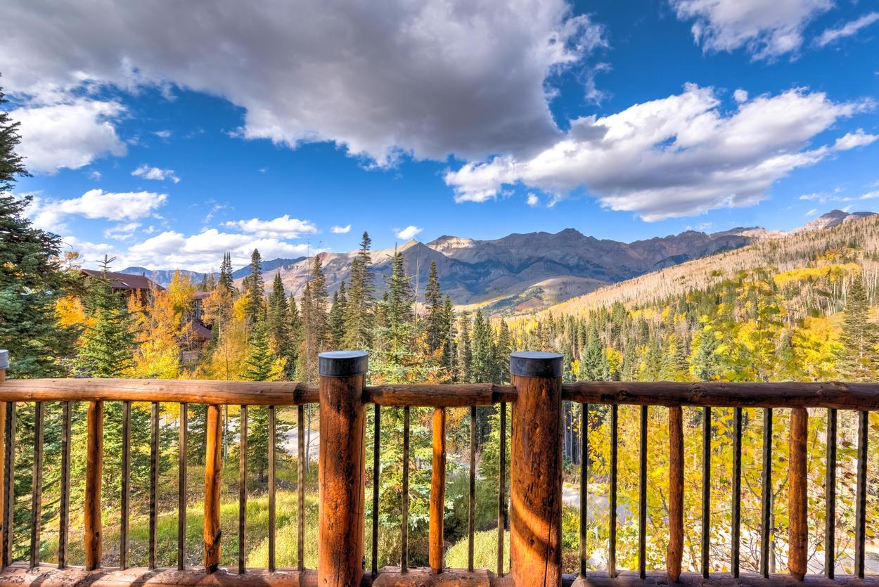 The view from the balcony in the Master Bedroom reminds you why you're here.