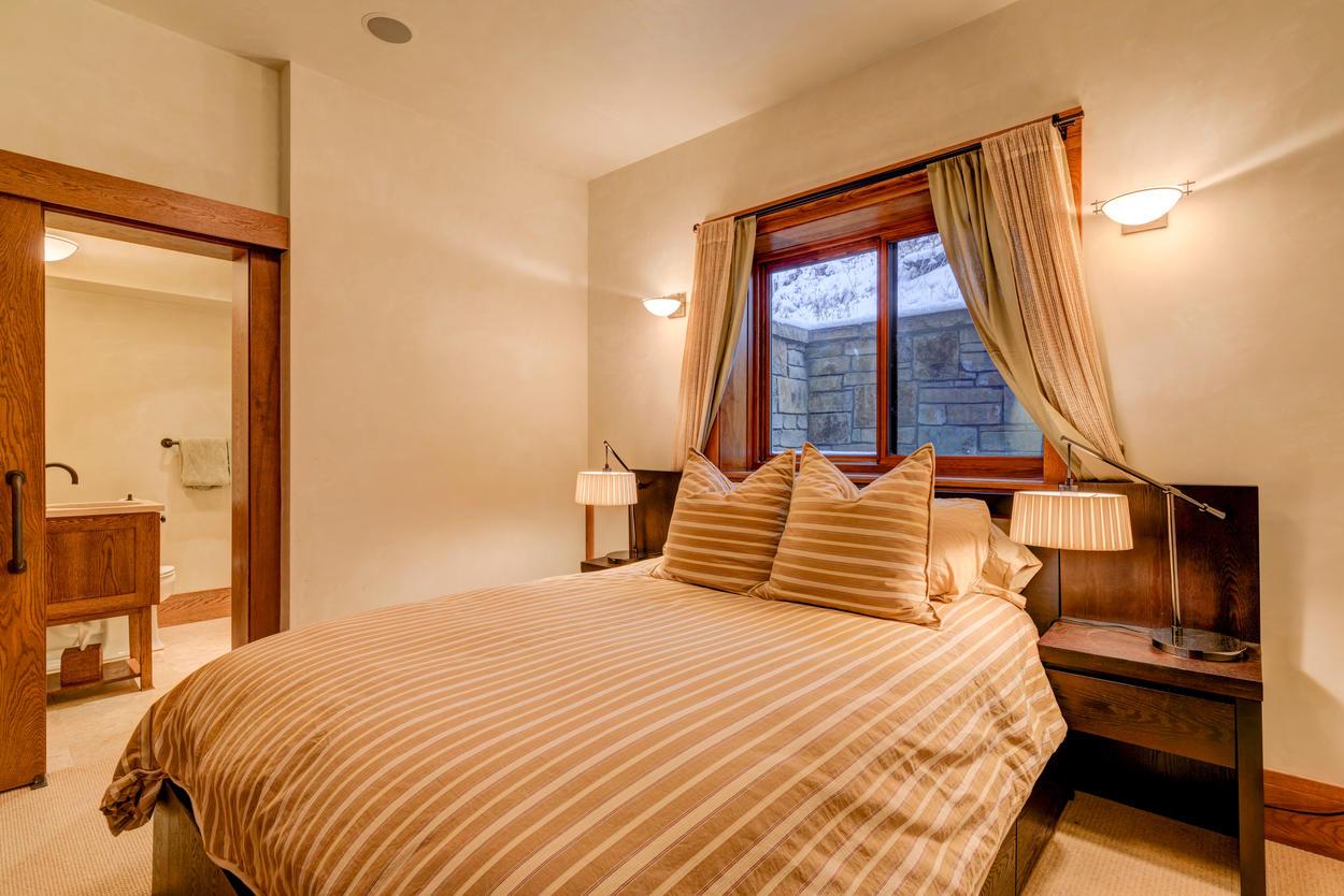 A convenient en suite is certainly sweet.