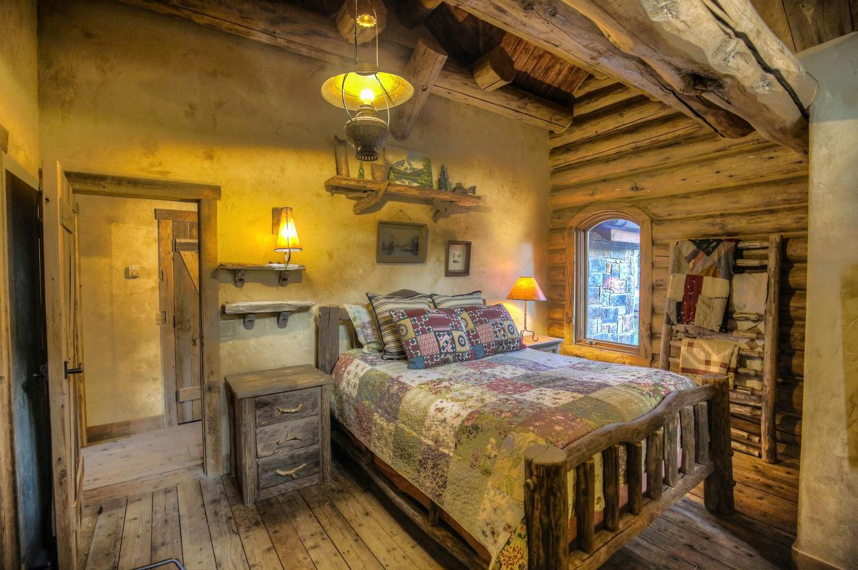 The Coach House bedroom provides another sleeping option for guests.