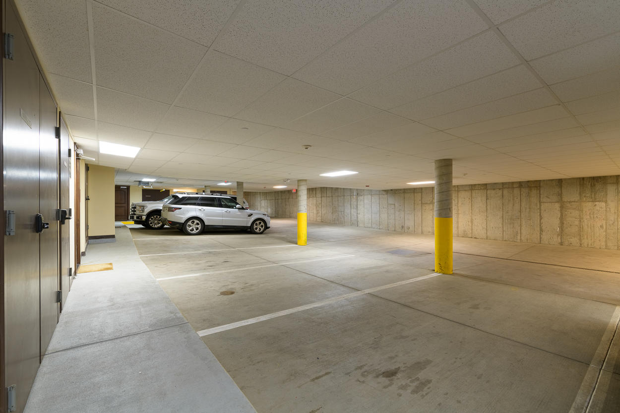 Parking is beneath the residence, with a direct elevator to the home.