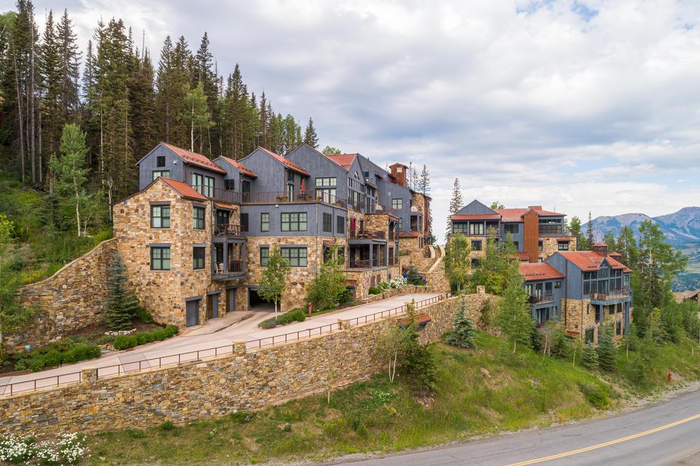 Alpenglow at Cassidy Ridge
