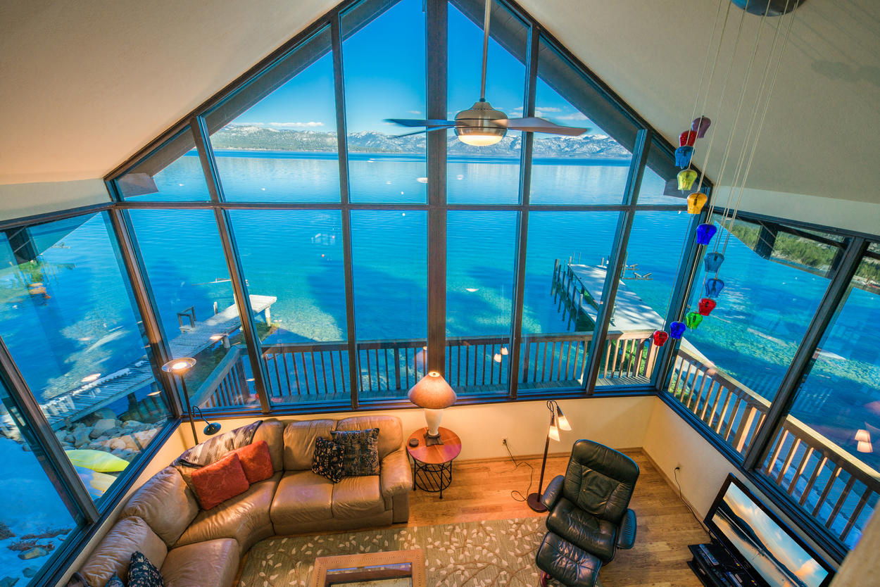 Sit back and take in the exquisite views from the loft.