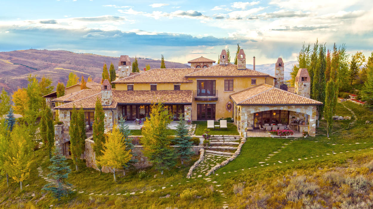 Constructed in 2008, this home was built with authentic Italian stones to stand the test of time.