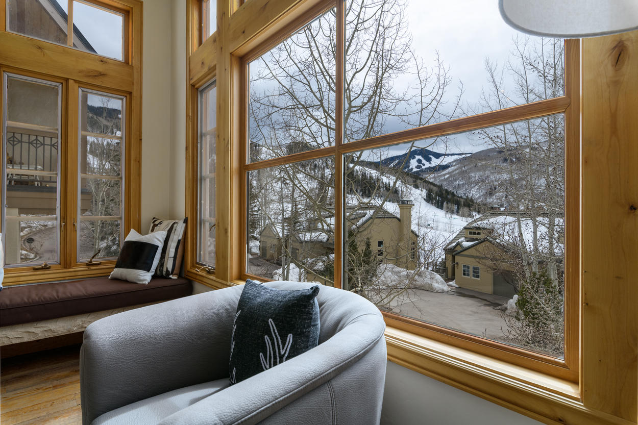 The slopes await, just a short walk from your home.
