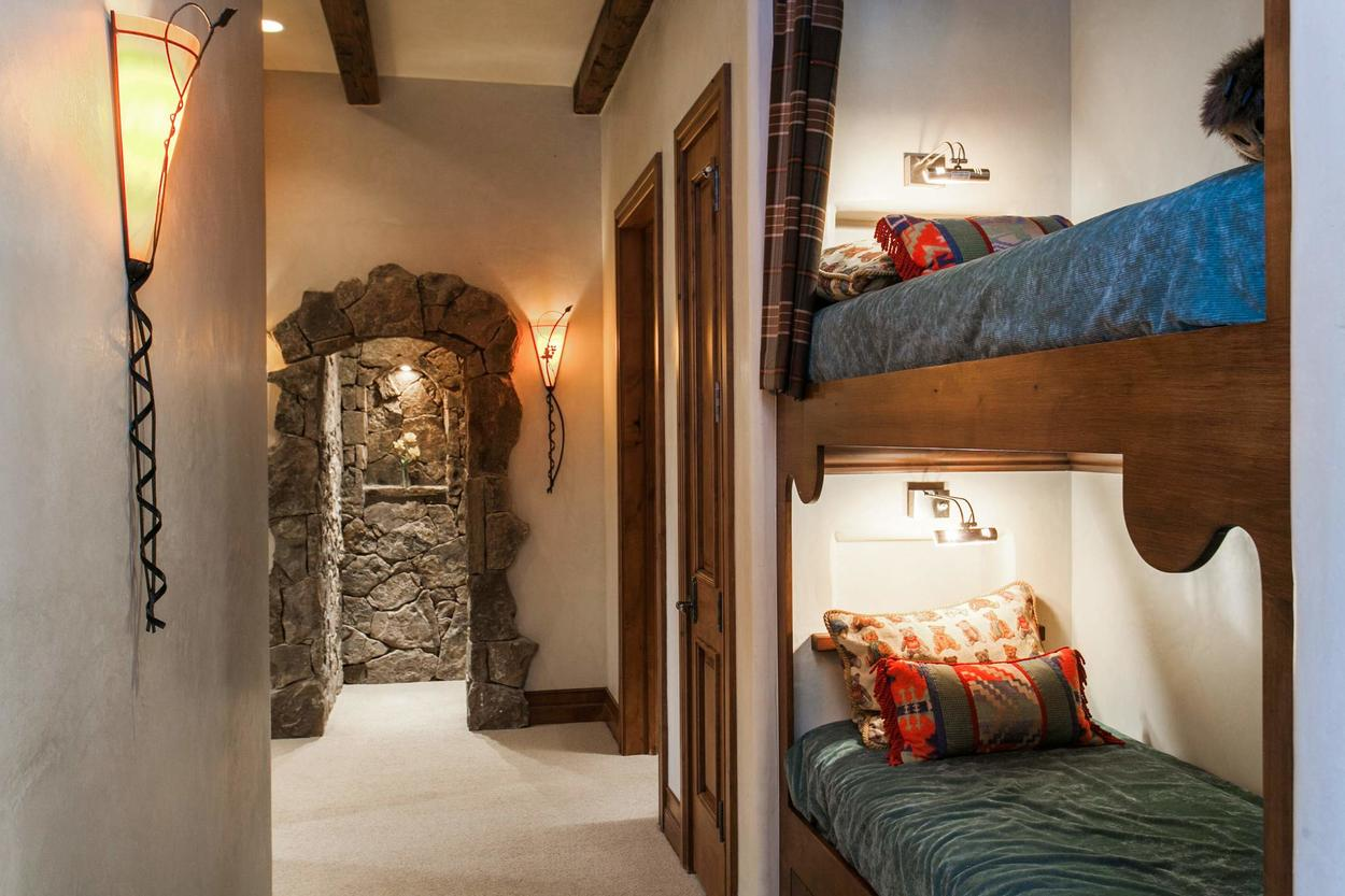 Each sleeping space was thoughtfully created with comfort and privacy in mind