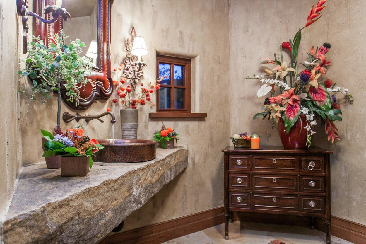 The home has 2 half baths to keep convenience top of mind