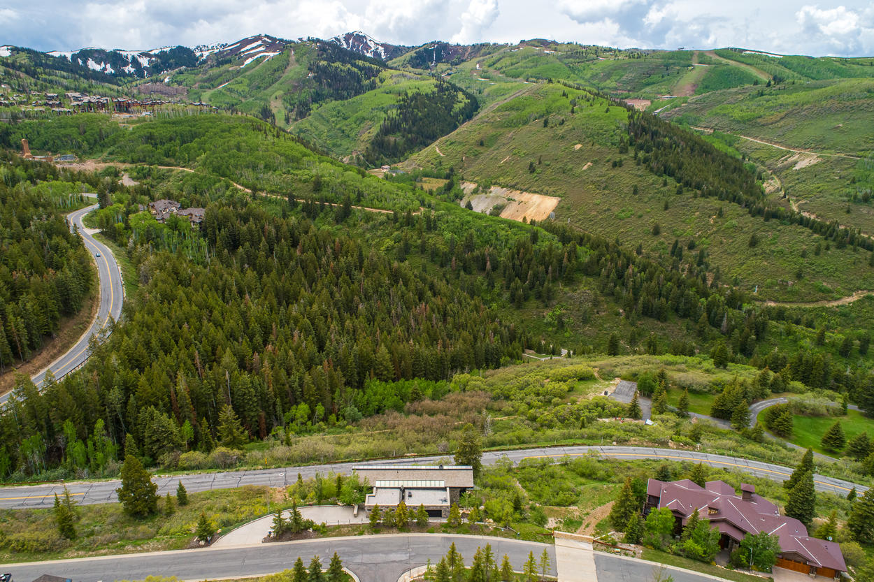 Deer Valley's peaks are some of your only neighbors.
