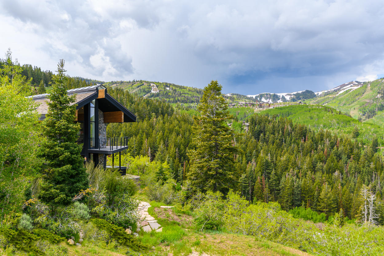 In all seasons, the views from this home are absolutely spectacular.