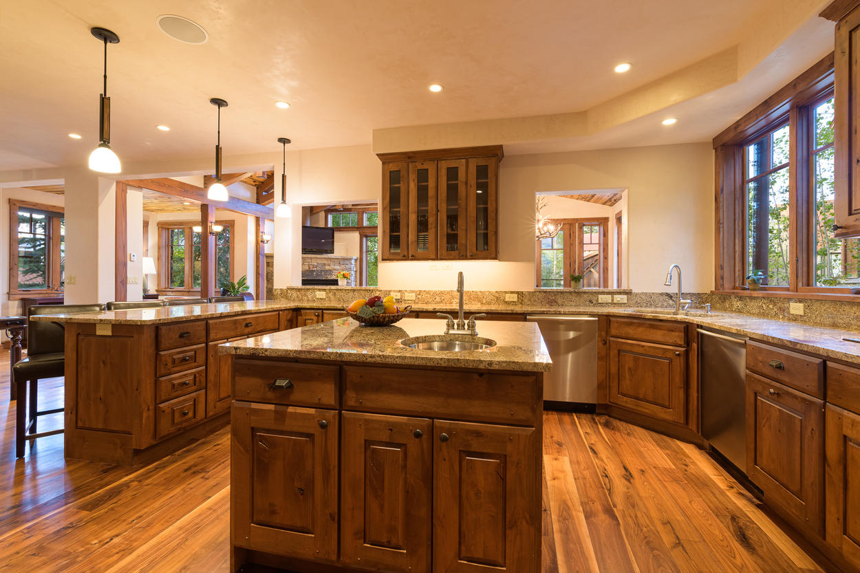 With plenty of counter space, preparing meals for your whole group is no problem.