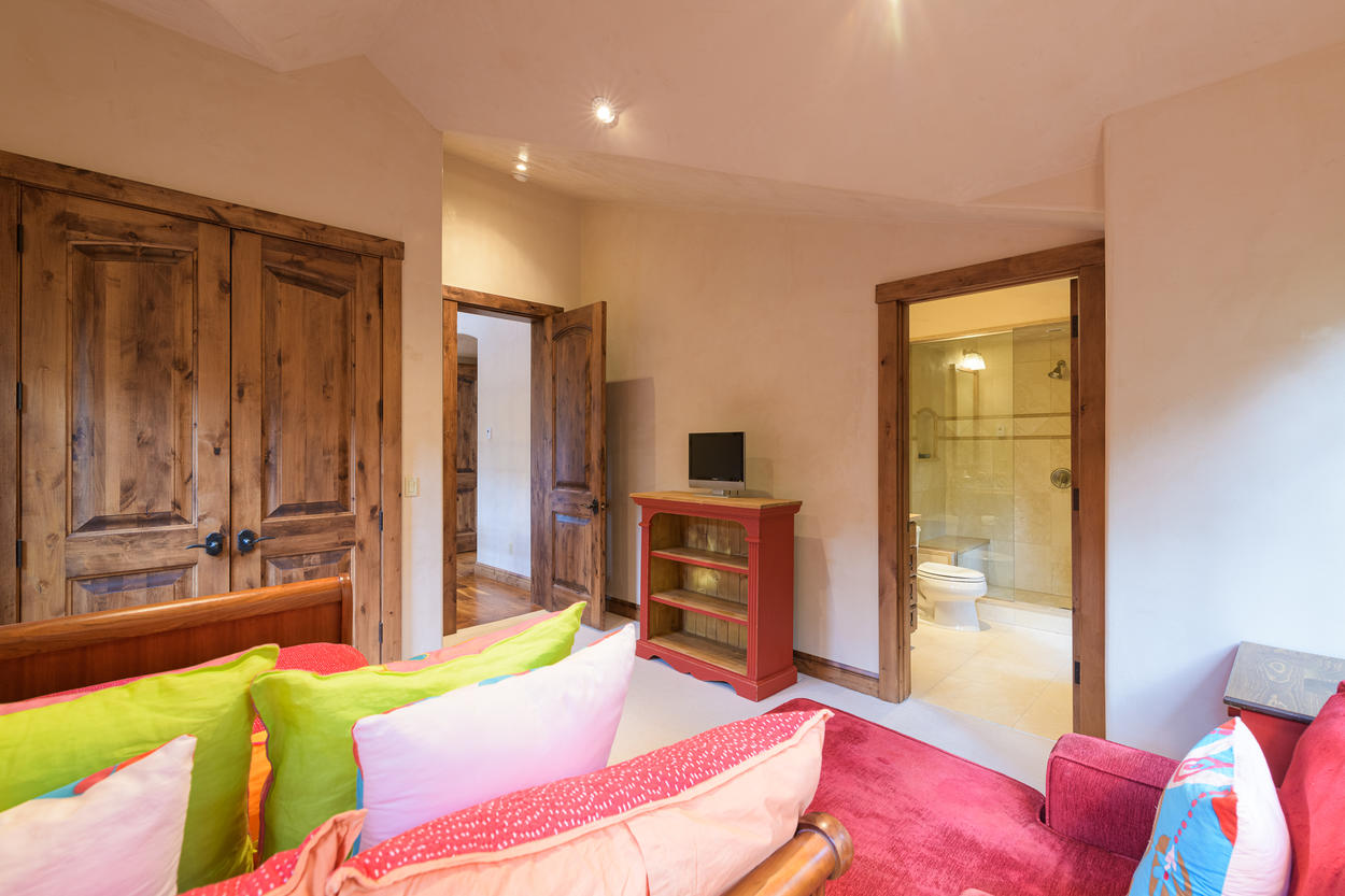 The Trundle Room on the upper level also has its own attached ensuite bathroom.