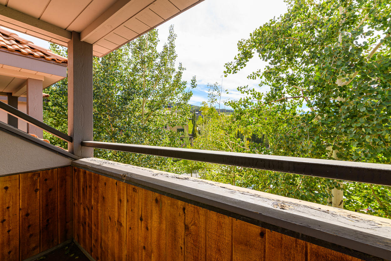 Take in the fresh air from the private balcony off the Master Bedroom.