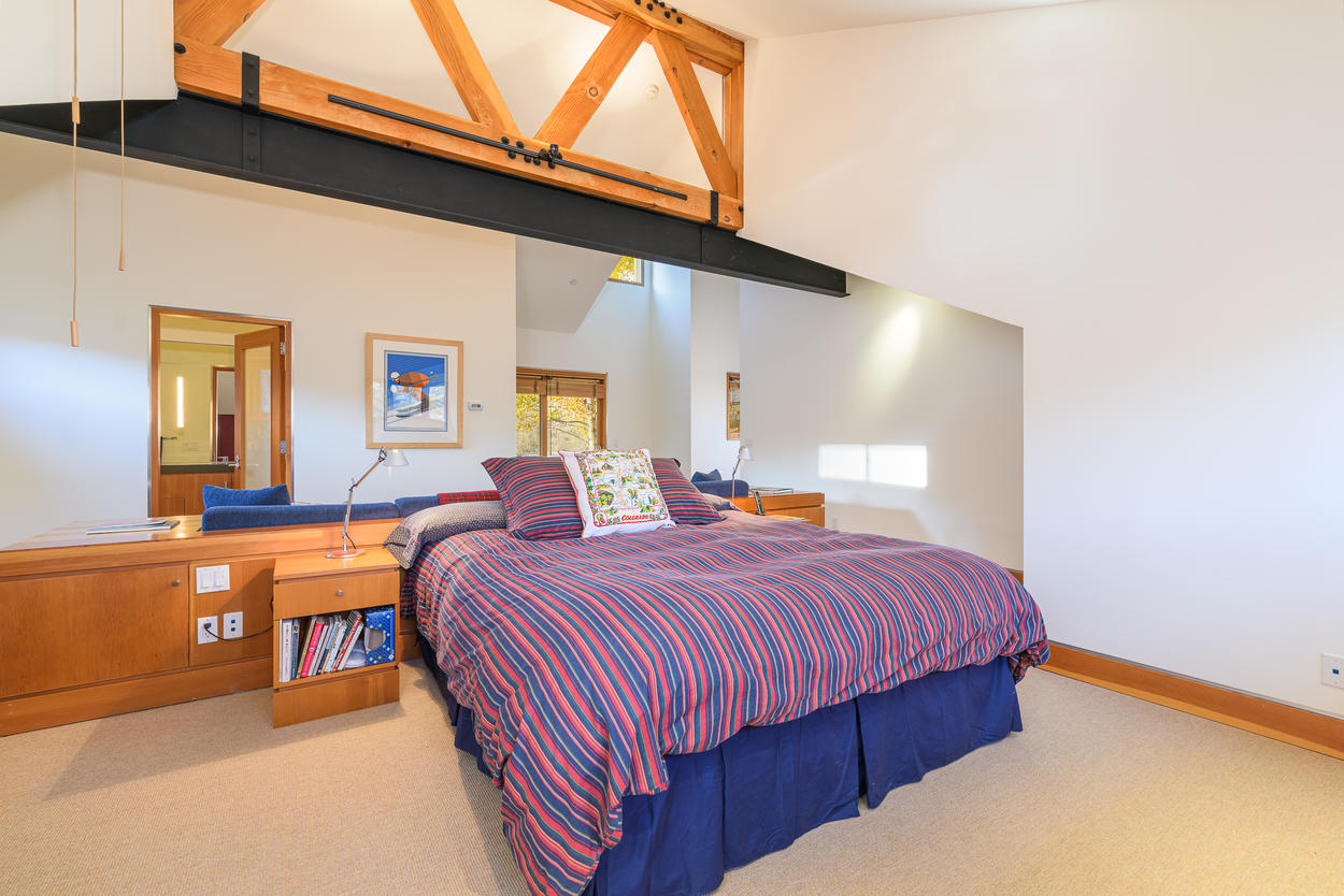 The King Guest Bedroom is located on the second level.