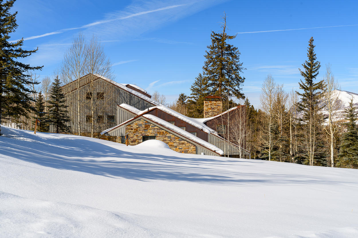 The home was designed to mirror the gorgeous landscape that surrounds it.