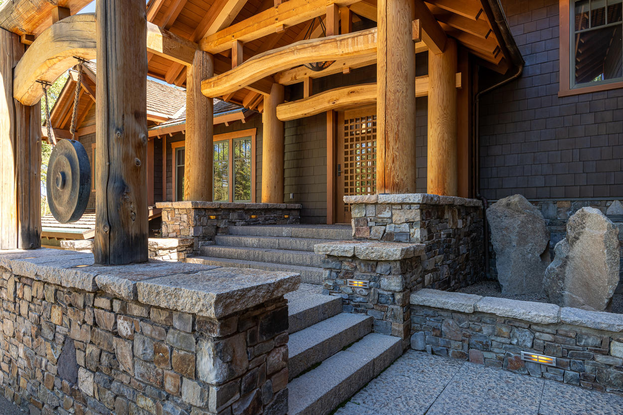 Welcome to your inner Zen with this Exquisite Stonework