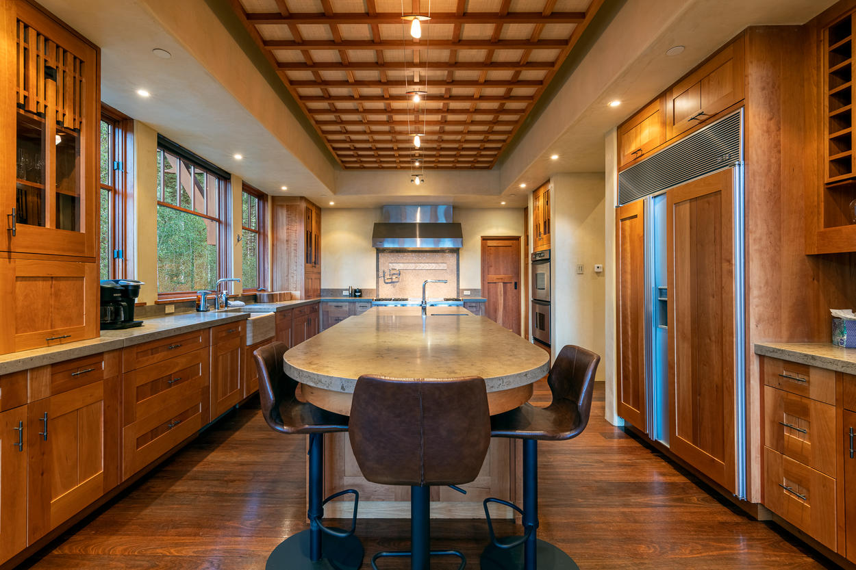 Nothing but peace and tranquility in this Pristine Kitchen