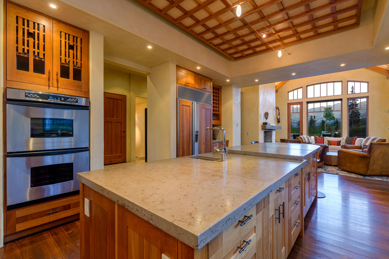 Beautiful Kitchen, plush family living -  All with Incredible Views