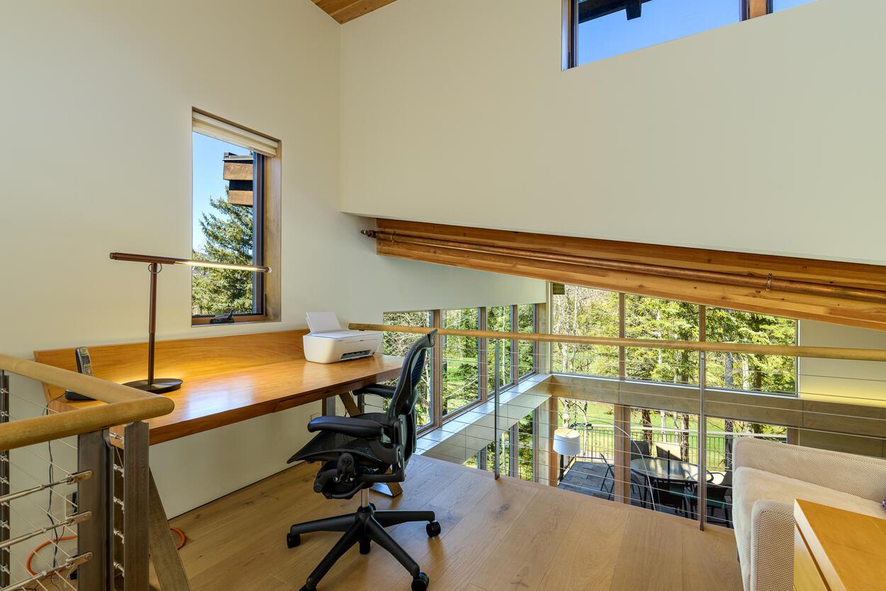 Office nook upstairs